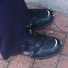 健走鞋見證